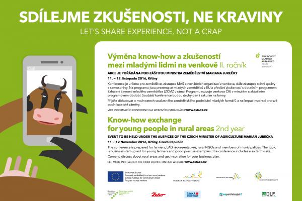 II. ročník konference Výměna know-how a zkušeností mezi mladými lidmi na venkově