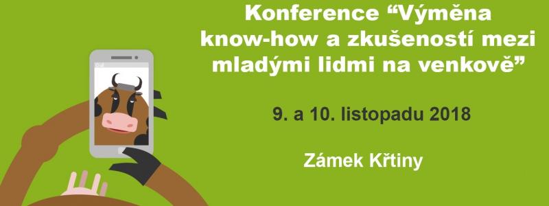 Konference Výměna know-how  a zkušeností mezi mladými lidmi na venkově 4